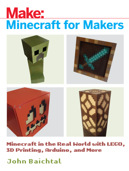 Make: Minecraft for Makers封面